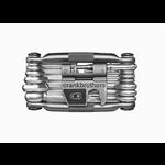 CRANK BROTHERS Crankbrothers - M19 multitool c/custodia Nickel