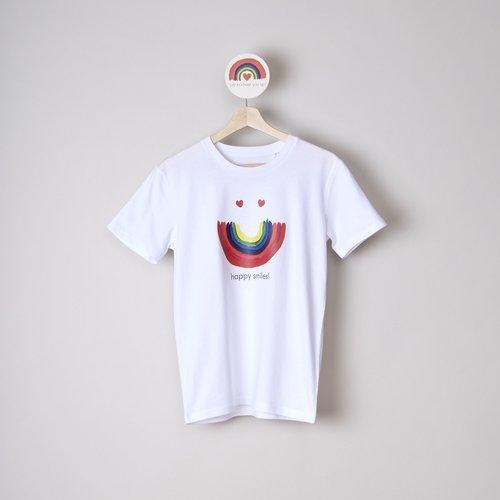 t-shirt unisex  happy smiles