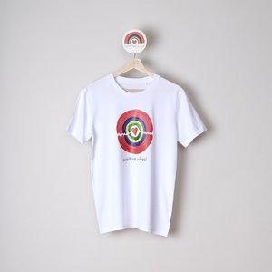 t-shirt unisex  positive vibes