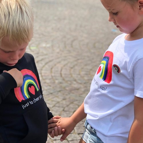 t-shirt kids  just to cheer you up