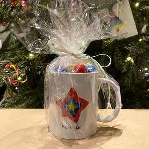 candy mug happy star