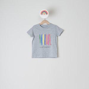 t-shirt kids grey equal happiness