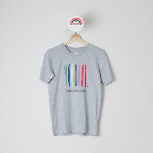 t-shirt unisex grey equal happiness