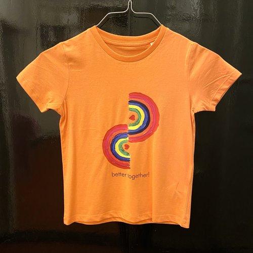 t-shirt kids melon better together