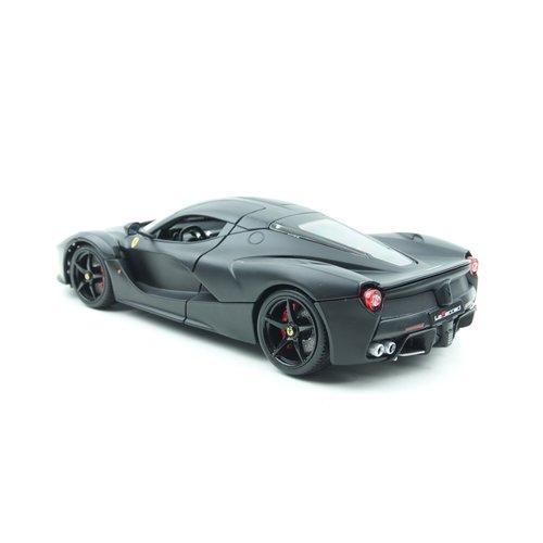 Bburago Bburago Signature Ferrari Laferrari 2014 Mat Zwart 1:18