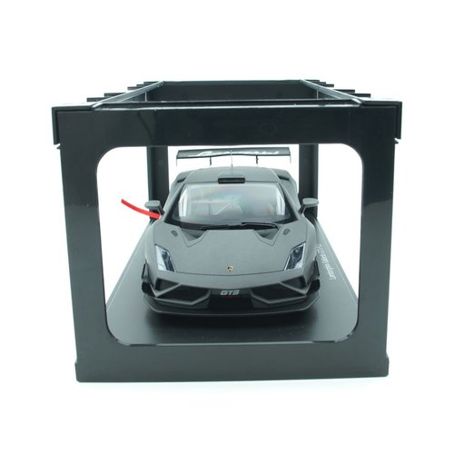 AUTOart AUTOart Lamborghini Gallardo GT3 FLe Mat Grijs 1:18