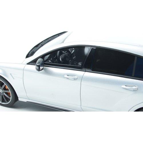 GT Spirit GT Spirit Mercedes-Benz CLS 63 AMG Shooting Brake Zilver 1:18 - Nieuw