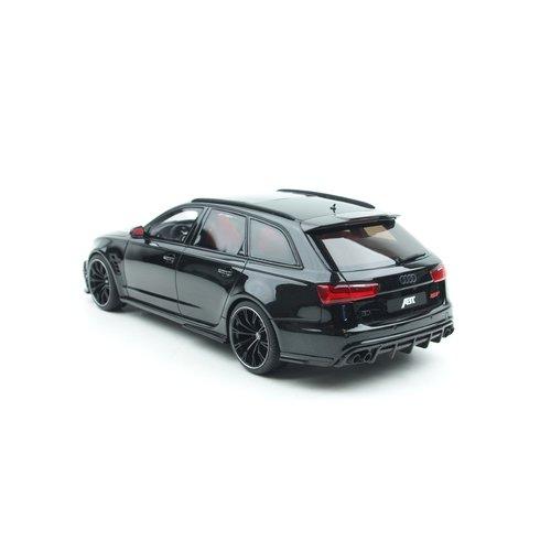 GT Spirit GT Spirit Audi RS6 + ABT ছাদ বাক্স সহ কালো 1:18 - নতুন হিসাবে হিসাবে ভাল good