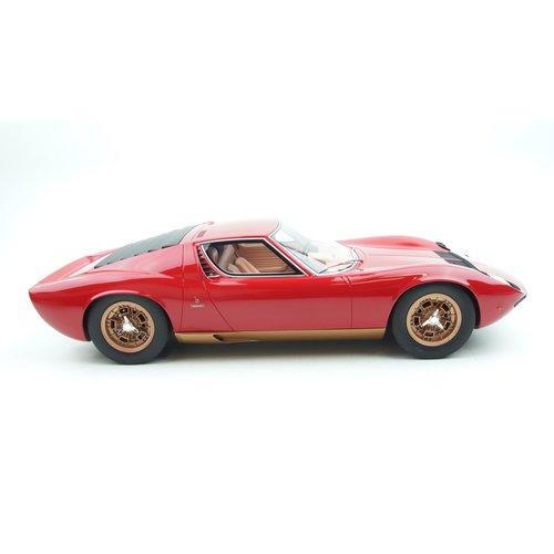 Kyosho Kyosho 特别 Lamborghini Miura Red 1:12预定XNUMX月