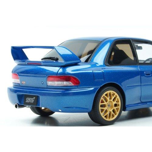 Kyosho  Kyosho 武士阶级 Subaru Impreza 22B STI蓝色1:18-新