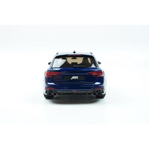 GT Spirit GT Spirit Audi ABT RS4 أفانت 2018 باللون الأزرق 1:18 طبعة آسيا الخاصة