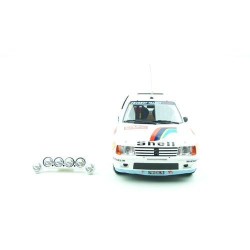 Otto mobile Otto Mobile - Peugeot J5& Peugeot 205 T16蒙特卡洛拉力赛套装1:18