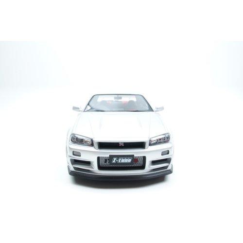 Kyosho Kyosho Nissan স্কাইলাইন জিটি-আর নিমস্তো সিলভার 1:12 - নতুন