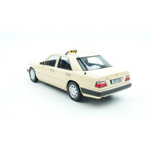 iScale IScale Mercedes-Benz E-Klasse W124 Taxi 1989 Créme 1:18 - Nieuw