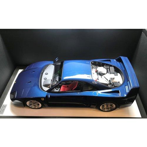 GT Spirit GT Spirit Ferrari F40 1984 Blauw 1:8 - Nieuw