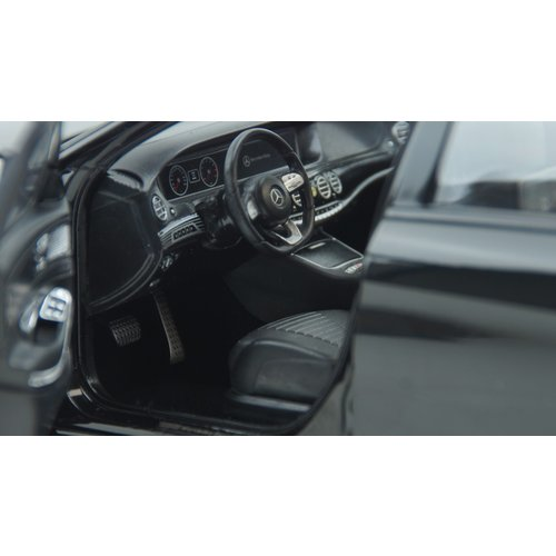 Norev Norev Mercedes-Benz এস-ক্লাস এএমজি-লাইন 2018 কালো 1:18