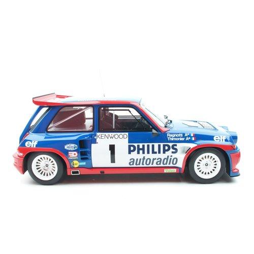 Otto mobile Otto Mobile Renault Maxi 5 Turbo Tour De France 1985 Blau 1:12
