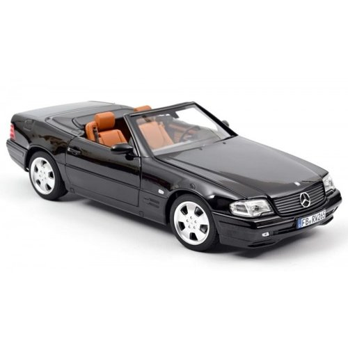 Norev Norev Mercedes-Benz SL 500 1999 Schwarz 1:18