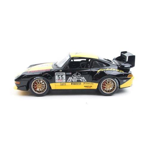 Anson Anson Porsche 911 GT2 Bryner #55 Zwart 1:18