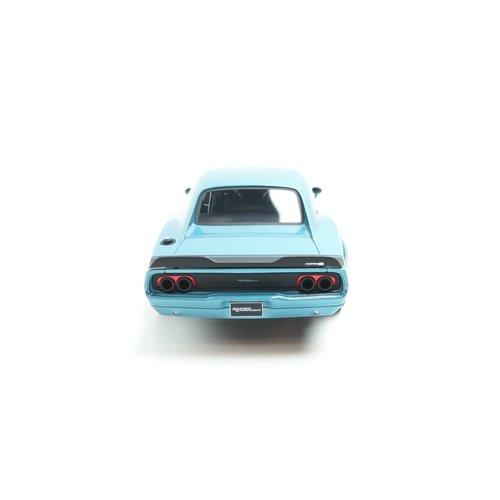 GT Spirit GT Spirit Dodge সুপার চার্জার ধারণা 2018 পলি ব্লু 1:18