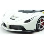 Bburago Hot Wheels Ferrari LaFerrari F70 হাইব্রিড 2013 হোয়াইট 1:18