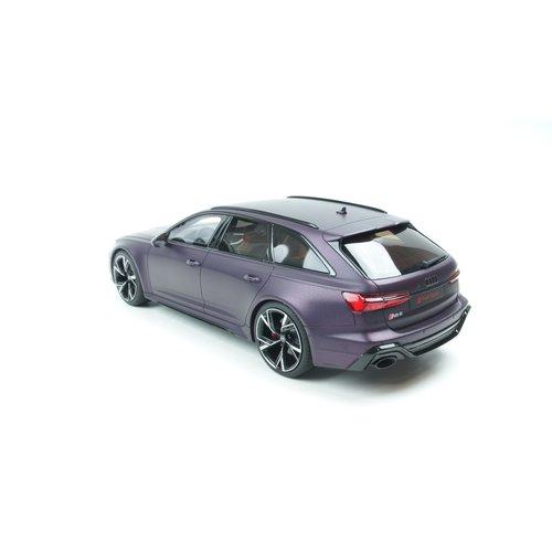 GT Spirit GT Spirit Audi আরএস 6 অ্যাভেন্ট 2020 মার্লিন ম্যাট বেগুনি 1:18