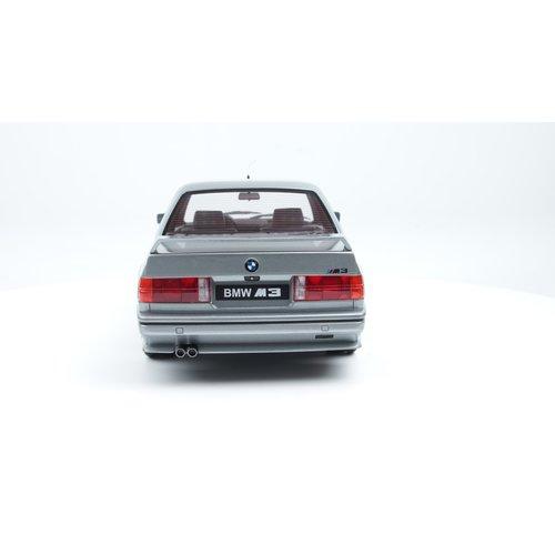 Otto mobile Otto Mobile BMW M3 E30 1987 Salmon Zilver 1:12
