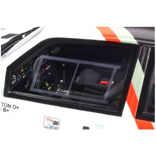 Otto mobile Otto Mobile Audi কোয়াটারো পাইকস পিক # 7 হোয়াইট 1:18