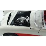 Bburago Bburago Chevrolet করভেট ক্যাবরিও 1957 ক্রিম / রেড 1:18