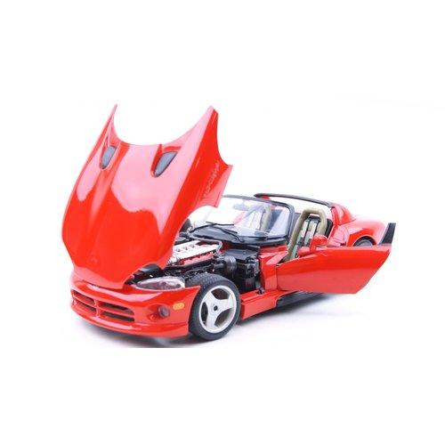 Bburago Bburago Dodge Viper RT/10 Rood 1:18