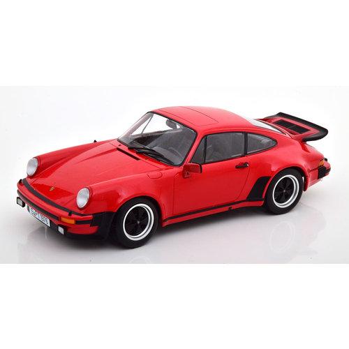 KK Scale KK Scale Porsche 911 (930) 3.0 Turbo 1976 Rood 1:18