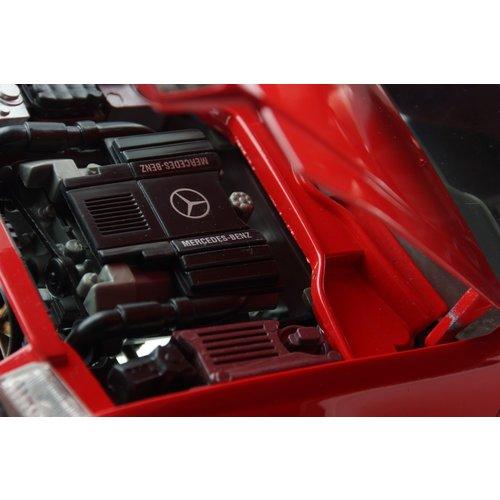 Maisto রাস্তা কঠিন Mercedes-Benz 500 এসএল ক্যাবরিও রেড 1:18