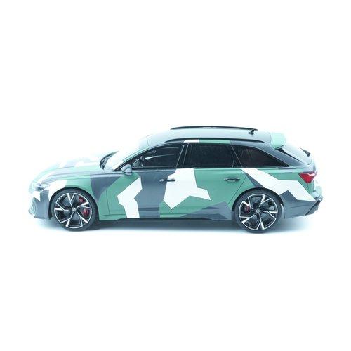 GT Spirit GT Spirit Audi আরএস 6 (সি 8) অবন্ত 2020 ক্যামো 1:18
