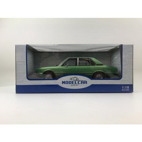 MCG Model Car Group MCG BMW 5-Serie (E12) 1974 Groen Metallic 1:18