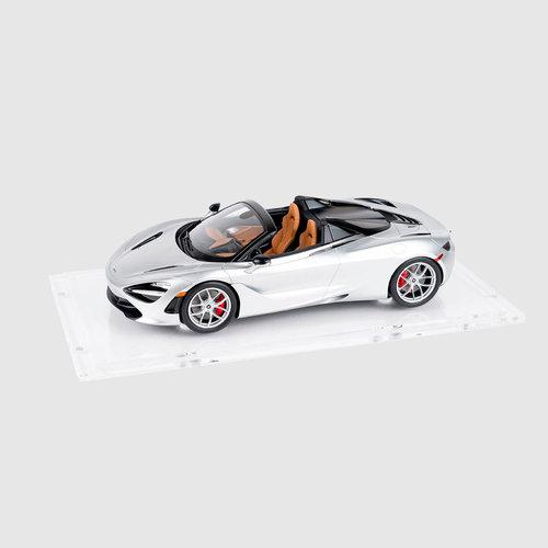 Spark Spark McLaren 720 S Spider 2019 Zilver 1:18