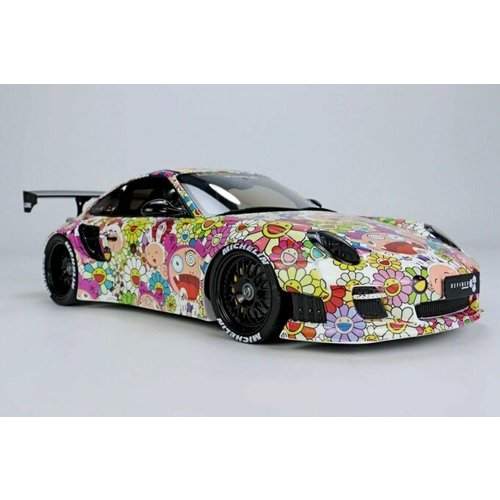 GT Spirit GT Spirit Porsche 911 LBWK Jaden Kaikai Kiki 1:18