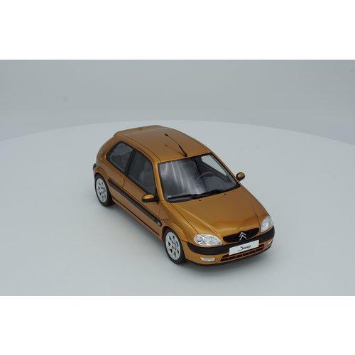 Otto mobile Otto Mobile Citroën স্যাক্সো ভিটিএস 2000 হেলিডর হলুদ 1:18