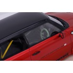 Modelli AB Modelli AB Mini Cooper LB Walk Dark Red Metallic 1:18