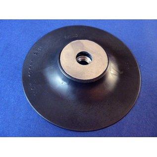 Versandmetall Steunschijf, Rubberschijf voor Fiberschijf 115 mm met schroefdraad M14