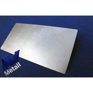 Versandmetall 70 Stück Zuschnitt 130x85mm aus Stahlblech DC01, Materialstärke 2,0 mm, nicht entgratet