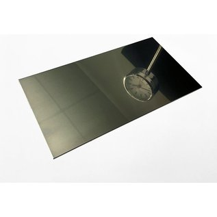Versandmetall dunne plaat roestvrij Staal 1.4301 gesneden op Maat Breedte 25 - 150 mm Lengte 2000 mm oppervlakke glanzend/spiegelnde
