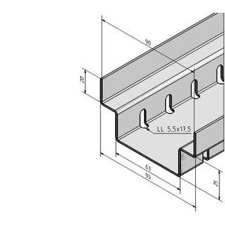 Versandmetall Draingoten Afvoergoten Roostergoot RVS vorm A Roestvrij Staal met Rooster Breedte Inlaat 90-140 mm lage inbouwhoogte