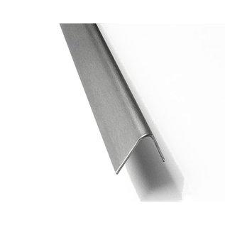 Versandmetall Edelstahlwinkel gleichschenkelig 60° Länge 2500 mm