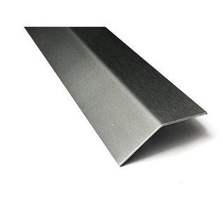 Versandmetall Edelstahlwinkel gleichschenkelig 135° Länge 1500 mm