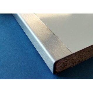 Versandmetall Eindprofiel U-Profiel 1,0 mm gemaakt van roestvrij Staal voor gefreesde platen