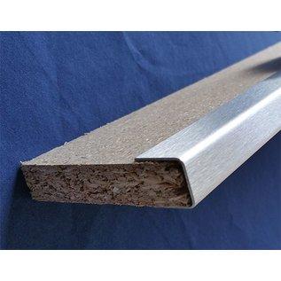 Versandmetall Einfassprofil U-Profil Edelstahl von 10mm bis 40mm Platten