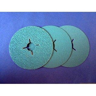 Versandmetall 5 Stück Fiberscheibe 115 mm (Edelstahl)