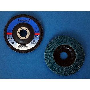 Versandmetall 3 stuks Lamellenschijven, geleed, vor roestvrij Staal, doorrsnede 115 mm vor haakse slijper