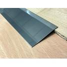 Versandmetall Voegafdekprofiel Afdekprofiel 4,5mm roestvrij Staal oppervlakke glanzend/spiegelnde  2X gezet