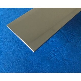 Versandmetall voegafdekking gemaakt van roestvrij Staal 1.4301 gepolijst gezet 2X 172°